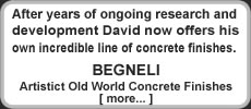 BEGNELI Artistic Concrete Acid Stains by David Stovall is available at http://davidsfloors.com/begneli-concrete-stain-and-sealer-products/